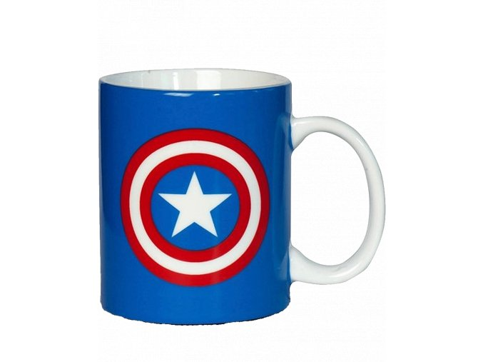 Hrnek Marvel: Captain America - štít (300 ml)