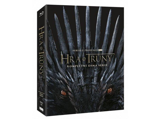 Hra o trůny - 8.sezóna (3x Blu-ray)