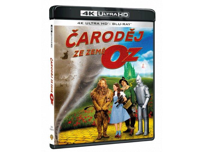 Čaroděj ze země Oz (4k Ultra HD Blu-ray + Blu-ray)