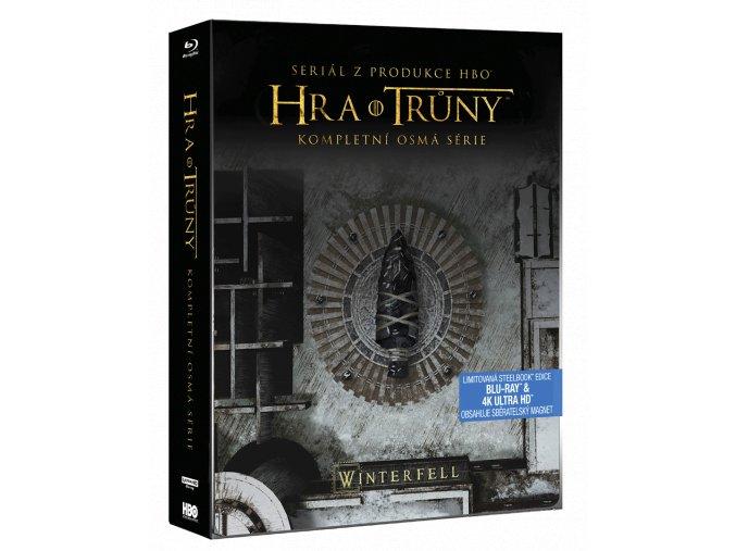 Hra o trůny - 8. série (Steelbook, 3x 4k Ultra HD Blu-ray + 3x Blu-ray)
