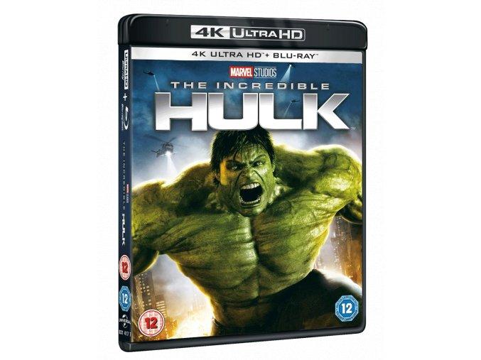 Neuvěřitelný Hulk (4k Ultra HD Blu-ray + Blu-ray, bez CZ podpory)