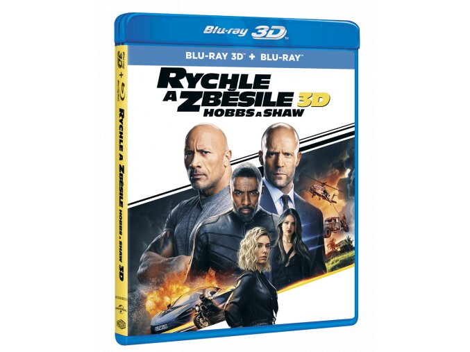 Rychle a zběsile: Hobbs a Shaw (Blu-ray 3D + Blu-ray 2D)