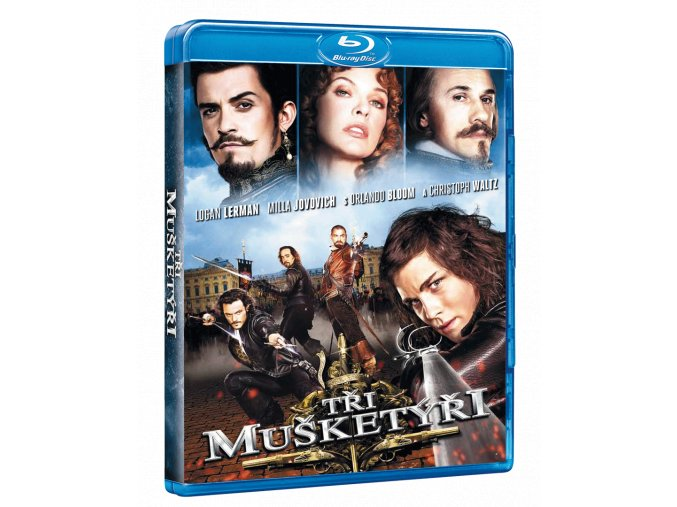 Tři mušketýři (Blu-ray 3D + 2D)