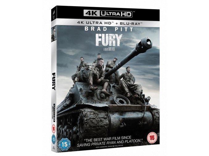 Železná srdce (4k Ultra HD Blu-ray + Blu-ray, Bez CZ podpory)