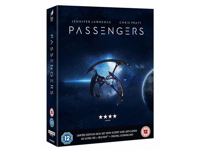 Pasažéři (4k Ultra HD Blu-ray + Blu-ray, bez CZ podpory, sběratelská edice)