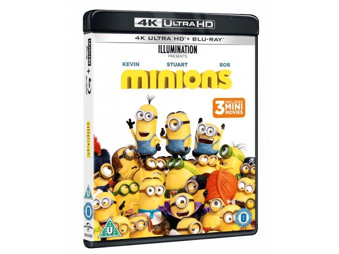 Mimoni (4k Ultra HD Blu-ray + Blu-ray, CZ dabing a titulky pouze na UHD)