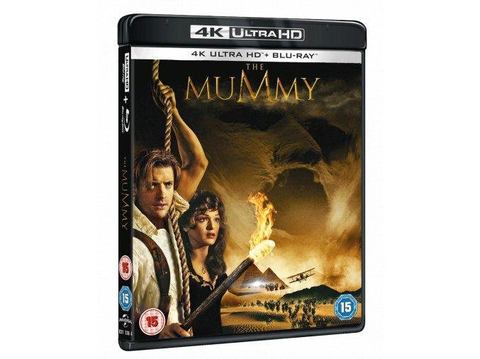Mumie (4k Ultra HD Blu-ray + Blu-ray, CZ dabing a titulky pouze na UHD)