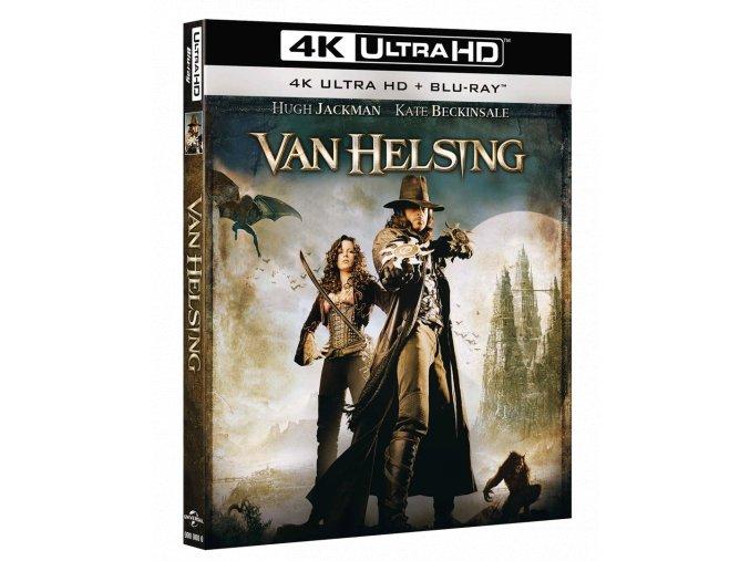 Van Helsing (4k Ultra HD Blu-ray + Blu-ray, bez CZ podpory)