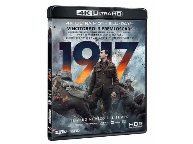 1917 (4k Ultra HD Blu-ray + Blu-ray, Bez CZ)