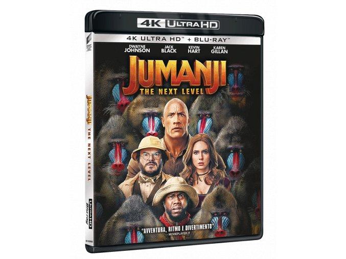 Jumanji: Další level (4k Ultra HD Blu-ray + Blu-ray)