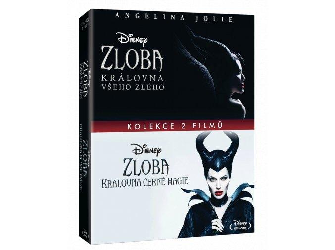 Kolekce Zloba: Královna černé magie a Královna všeho zlého (2x Blu-ray)
