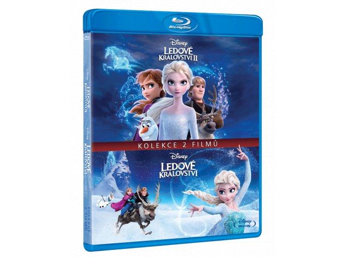 Ledové království 1 - 2 (Kolekce, 2x Blu-ray)