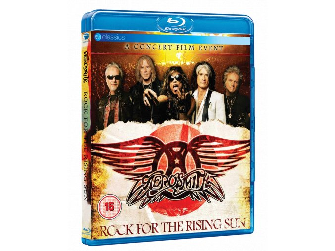 Aerosmith: Rock For The Rising Sun (Live from Japan, Blu-ray)