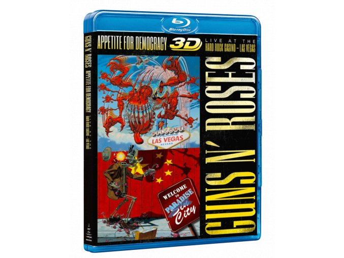Guns N´ Roses: Appetite for Democracy (Live at the Hard Rock Casino, Blu-ray 3D)