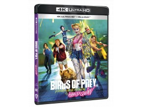 Birds of Prey (Podivuhodná proměna Harley Quinn) (4k Ultra HD Blu-ray + Blu-ray)