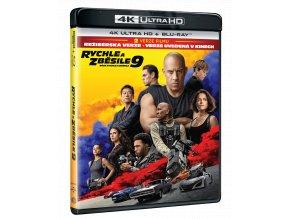 Rychle a zběsile 9 (F9, 4k Ultra HD Blu-ray + Blu-ray)