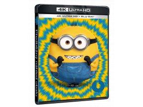 Mimoni 2: Padouch přichází (4k Ultra HD Blu-ray + Blu-ray)