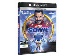 Ježek Sonic (4k Ultra HD Blu-ray + Blu-ray)