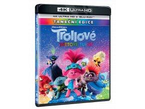 Trollové: Světové turné (4k Ultra HD Blu-ray + Blu-ray)