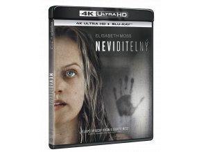 Neviditelný (4k Ultra HD Blu-ray + Blu-ray)