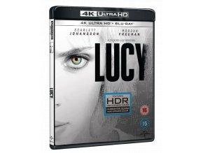 Lucy (4k Ultra HD Blu-ray + Blu-ray, Bez CZ)