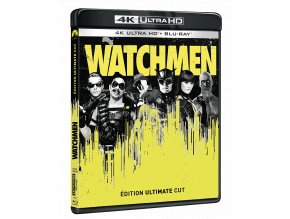 Watchmen (The Ultimate Cut, 4k Ultra HD Blu-ray + Blu-ray, Bez CZ)