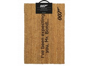 Rohožka James Bond: 007 (60 x 40 cm)
