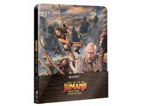 Jumanji: Další level (Blu-ray, Steelbook)