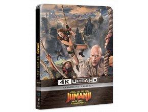 Jumanji: Další level (4k Ultra HD Blu-ray + Blu-ray, Steelbook)