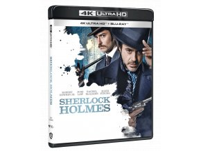 Sherlock Holmes (4k Ultra HD Blu-ray + Blu-ray)