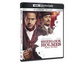 Sherlock Holmes: Hra stínů (4k Ultra HD Blu-ray + Blu-ray)