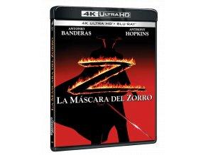 Zorro: Tajemná tvář (4k Ultra HD Blu-ray + Blu-ray)