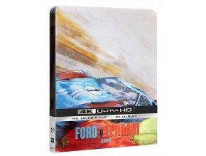 Le Mans '66 (4k Ultra HD Blu-ray + Blu-ray, Steelbook)