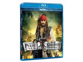 Piráti z Karibiku: Na vlnách podivna (Blu-ray)