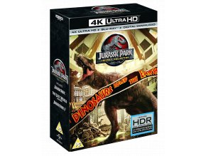 Jurský Park Trilogie (Kolekce 1-3, 3x 4k Ultra HD Blu-ray + 3x Blu-ray, CZ pouze na UHD)