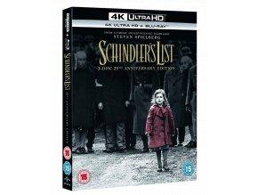 Schindlerův seznam (4k Ultra HD Blu-ray + Blu-ray, CZ pouze na UHD)