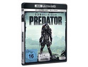 Predátor (4k Ultra HD Blu-ray + Blu-ray, CZ pouze na UHD)