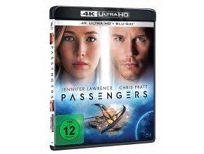 Pasažéři (4k Ultra HD Blu-ray + Blu-ray, CZ pouze na UHD)