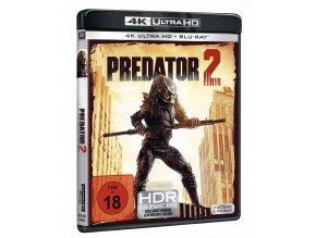 Predátor 2 (4k Ultra HD Blu-ray + Blu-ray, CZ pouze na UHD)