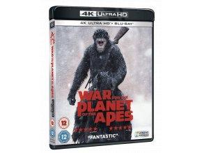 Válka o planetu opic (4k Ultra HD Blu-ray + Blu-ray, CZ pouze na UHD)
