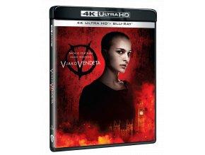 V jako Vendeta (4k Ultra HD Blu-ray + Blu-ray)
