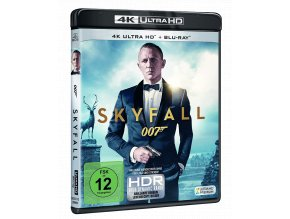 Skyfall (4k Ultra HD Blu-ray + Blu-ray, CZ pouze na UHD)