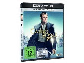 Casino Royale (4k Ultra HD Blu-ray + Blu-ray, CZ pouze na UHD)