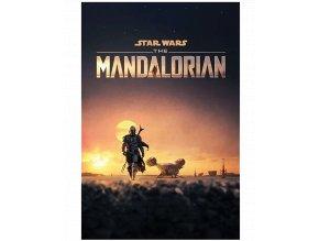 Plakát Star Wars - Mandalorian: Dusk (91,5 x 61 cm)
