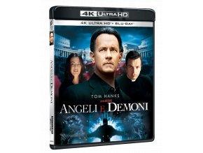 Andělé a démoni (4k Ultra HD Blu-ray + Blu-ray, CZ titulky pouze na UHD)