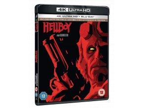 Hellboy (4k Ultra HD Blu-ray + Blu-ray, CZ dabing a titulky pouze na UHD)