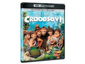 Croodsovi (4k Ultra HD Blu-ray + Blu-ray)