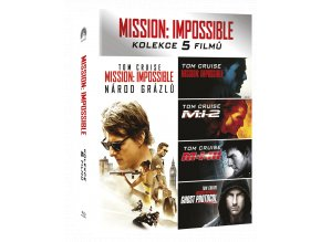 mission impossible kolekce 1 5 blu ray