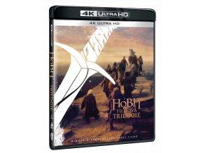 Trilogie Hobit (Rozšířené verze i Kinosestřihy, 6x 4k Ultra HD Blu-ray)