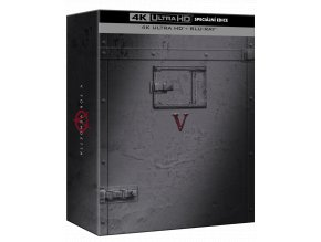 V jako Vendeta (4k Ultra HD Blu-ray + Blu-ray, Speciální edice)